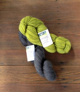 Beautiful DK weight yarn hand-dyed by Carole of Foster Sheep Farm.