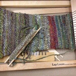 Courtney's weaving