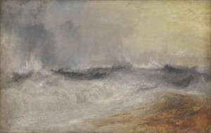 Waves Breaking against the Wind c.1840 Joseph Mallord William Turner 1775-1851