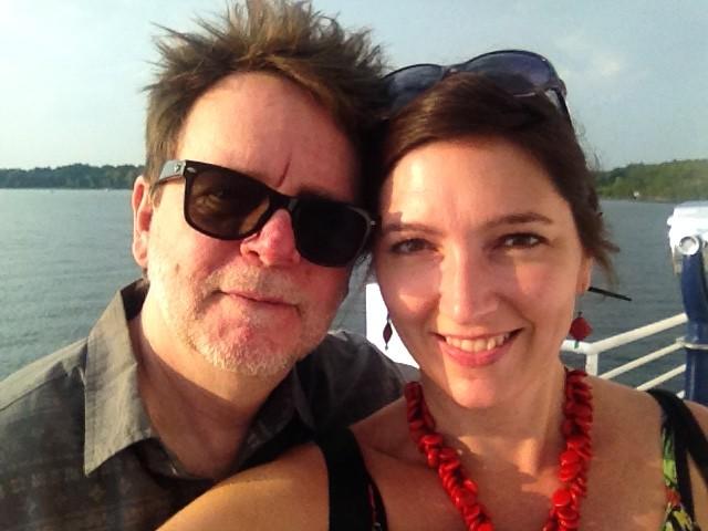sunset cruise on Lake Champlain