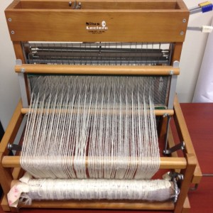 This Leclerc loom hasn't been used for decades. It needs some restorative attention, but I'm eager to put it back to use.
