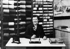 In researching the Dorothy model of Leclerc looms, I found out about this fascinating woman.