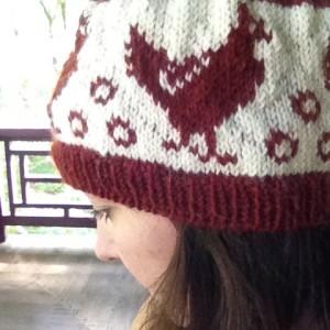 Rhode Island Red, a free Knitty pattern designed by Pam Sluter