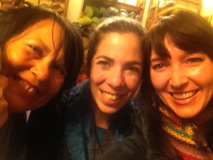 Saturday evening at Jill Draper's studio was a blast -- not least because we got to chat with Laura Nelkin.