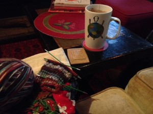 Christmas Day cast-on.