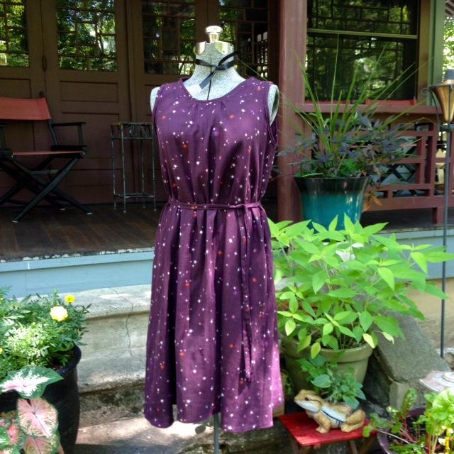 Kiomi dress in double gauze.
