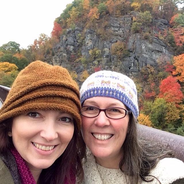 On Sunday morning, Claire and I walked the trestle bridge trail near Rosendale.